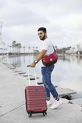 Khalil Alaoui - Sojos Sunnies, Zkin Official Bag, Soorty Jean, Baggagio Bag - Travel in style