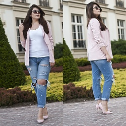 Feather P -  - Boyfriend Jeans