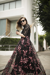 Karolina Gespucci - Vipme Dress - Maxi Floral Dress