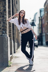 Sabrina Carder - Adidas Trackies - Sporty Spice