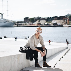 Piotr Ryterski - Dior Homme Sunglasses, Walk London Shoes - Hello Oslo ✌?