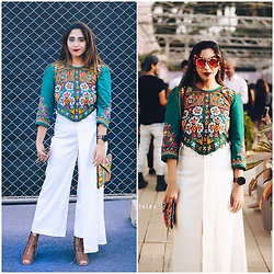 Surbhi Suri - Top, Pants, Forever 21 Shoes - More Shells and Embroidery