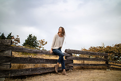 Alison Hutchinson - Nicole Bridger Sweater, Levi's® Jeans, Witchery Boots - Fall Transitioning