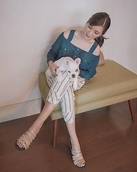 Tricia Gosingtian - Emoda Top, Mango Pants, Annie & Lori Shoes - 091017