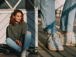 Silvy De Jong - Levi's® Levi's 501 Skinny, Reebok Sneakers - The Good Days Captured