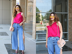 Diana Ior - Zara Top, Pull & Bear Jeans, Zara Sandals, H&M Glasses - Open Sides
