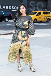 Tina Lee -  - The Look That Got Into Cosmo Best Street Style