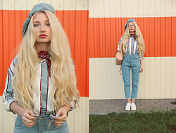 ♡Anita Kurkach♡ - Romwe Jeans, Romwe Shirt - BACK TO SCHOOL!