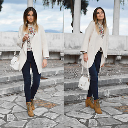 Tamara Bellis - Sammydress Blouse, H&M Denim, Sammydress Bag, Sammydress Cardigan - Cardigan Is My Favorite