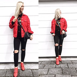 Claaufashion -  - Red red red
