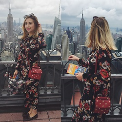 Matylda - Zara Maxi Dress, Zara Bag - Empire state of mind