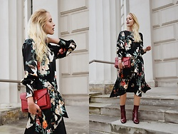 TripByTriplets B. - Zara Dress, Mango Bag, Zara Shoes - FLORAL DRESS