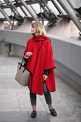 Martyna Lupa - Vintage, H&M, Pull&Bear, Stradivarius - Red friend for autumn