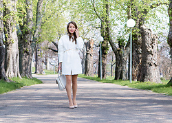 Stefanie -  - How to style your coat as a dress