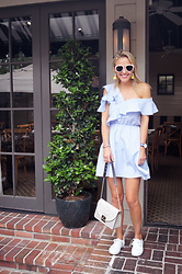 Susanne Bender - Shein Asymmetrical Dress, Furla Bag, Keds Sneakers, Daniel Wellington Watch, Polette White Sunglasses - Brunching!