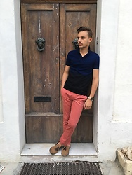 Kyle Magri - Asos Polo Shirt, Gagliardi Chinos, Asos Loafers - Classic Summer Look
