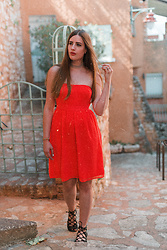 Andrea Funk / andysparkles.de - Only Dress - Bright Red