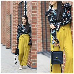 Kimberly Kong - Asos Wide Leg Trousers - Wearing Wide Leg Trousers for the First Time