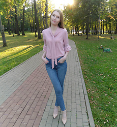 Roksa - Vipshop Pink Blouse - Last days of the summer