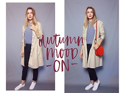 Mary Selina - Zara Bag, Hugo Boss Pants, Mango Trench Coat - Autumn mood ?