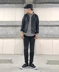 ★masaki★ - Conune Coating Denim Jacket, Forever 21 ?Shirts, Neuw Denim Iggy, Converse Allstar - ???
