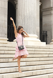 Besugarandspice FV - Goodnight Macaroon Dress, Givenchy Bag, Zara Heels - Pink Dress