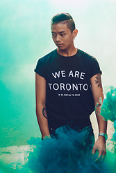 Antonio M - Compass Clothing We Are Toronto Custom T - Smoke Baby Smoke