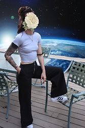 Wawa Baby - The Ragged Priest Pants, Adidas Sneakers - Space Time Continuum