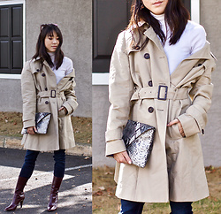 Keri H - Bb Dakota Trench Coat - How to Wear the Classic Trench Coat: