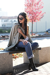 CLAUDIA Holynights - Chic Wish Trench, Prof Boots - Autumn colors