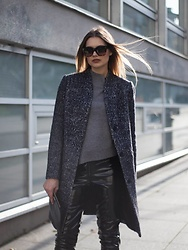 Sigita Mušauskaitė - Celine Eyewear, Fame Top, Selected Femme Coat, H&M Pants, Massimo Dutti Bag - Diva