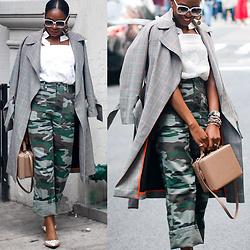 Monica Awe-Etuk -  - AWED BY MONICA:  SOLDIER OF LOVE – CAMO AND PLAID AND MY TOP