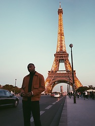 Besse Beugre - Eleven Paris Jacket, H&M Pants - Eiffel Tower