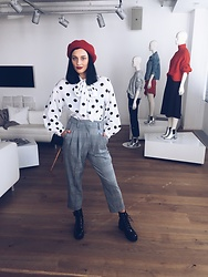 Janka Topanka - H&M Shoes, H&M Trousers, Shirt, H&M Shirt, H&M Hat - Mannequin
