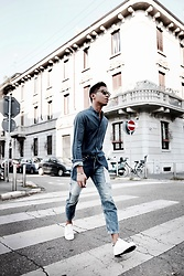 Jerome Centeno - Topman Patched Jeans - DENIM MUTATION