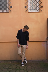 Anel Musanovic - Vans Old Skool, H&M Chinos, Ralph Lauren Blue Sweater, Gammis Watch - I am Back.