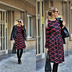 Ruxandra Ioana - Gamiss Dress, 3suisses Bag, Gatta Tights, Marc Jacobs Shoes - It's O.K.