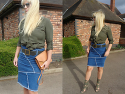 Alice Liddell -  - Denim and khaki