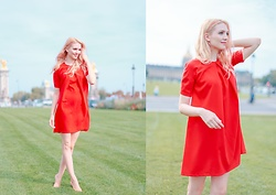 Eleonora Albrecht - Caterina Pervinca Red Dress - Mini red dress