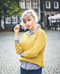 Vanessa ♡ - C&A, Only - Yellow pullover