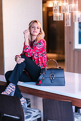 Susanne Bender - Gucci Dionysus Bag, Zara Velvet Blouse - That Gucci Girl