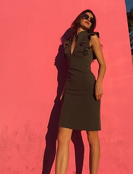 Shawnee Kvasnicka - Black Halo Dress - Pinky