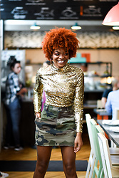 Alicia Nicholls -  - The Freshest Way to Wear Sequins