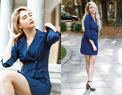 Sofija Surdilovic - Scrappykokostore Office Dress, Asos Brown Sandals - Seriously?