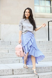 Kimberly Kong - Charlotte Russe Crop Top, Chicwish Ruffled Skirt - Getting my Annual Eye Exam at Target