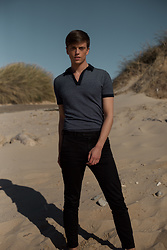 Georg Mallner - Asos Polo Shirt, H&M Pants - October 26, 2017