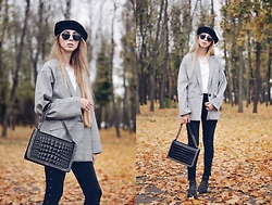 Lisa - Blazer, Beret - Leaf fall