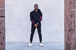 Willie Sparks - Zara Hoodie, Zara Trousers, Reebok Shoes - Roses