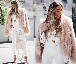 Maria De La Cruz - Haute & Rebellious, Haute & Rebellious, Haute & Rebellious, Haute & Rebellious - HOW TO WEAR AN ALL WHITE LOOK FOR FALL AND WINTER