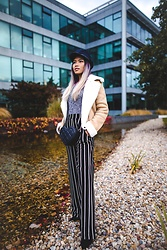 SuSu Do - Asos Hat, Bershka Coat, Asos Bag, Bershka Pants - Autumn vibes